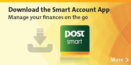 Download the smart Account App. Manage your finances on the go